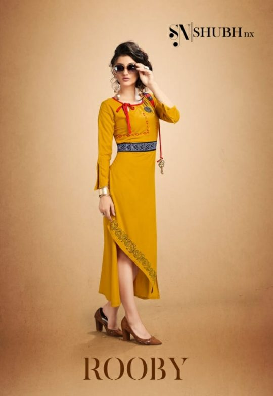 e3515b1a26 KURTI WHOLESALER PRESENTING SHUBH NX ROOBY FANCY READYMADE GOWN STYLE RAYON  KURTI CATALOG ONLINE BEST PRICE AHMEDABAD AND SURAT IN INDIA